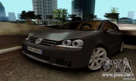 Volkswagen Golf 5 TDI für GTA San Andreas