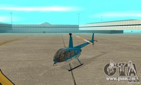 Robinson R44 Raven II-NC 1.0-TV für GTA San Andreas linke Ansicht