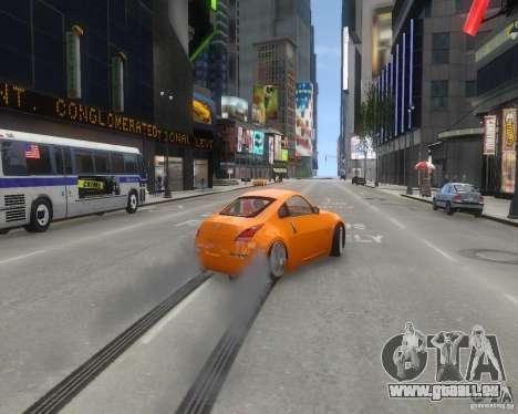 Nissan 350Z für GTA 4 Innenansicht