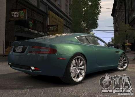 Aston Martin DB9 2008 v 1.0 pour GTA 4 Vue arrière de la gauche