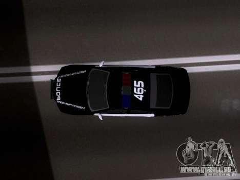 Dodge Charger SRT8 2011 V1.0 pour GTA San Andreas vue de droite