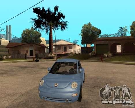 Volkswagen Beetle für GTA San Andreas Rückansicht