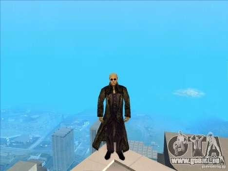 Matrix Skin Pack pour GTA San Andreas cinquième écran