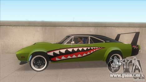 Dodge Charger RT SharkWide für GTA San Andreas linke Ansicht
