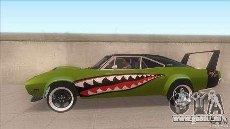 Dodge Charger RT SharkWide für GTA San Andreas linke Ansicht