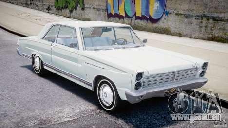 Ford Mercury Comet 1965 [Final] pour GTA 4 est une gauche