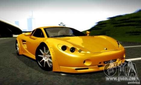 Ascari KZ1R Limited Edition für GTA San Andreas rechten Ansicht