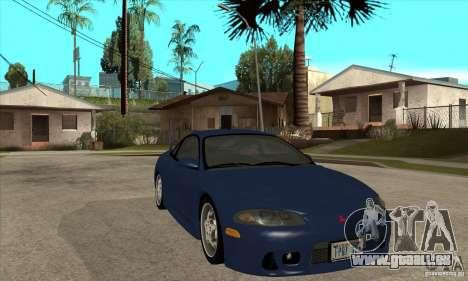 Mitsubishi Eclipse GSX - Stock pour GTA San Andreas vue arrière