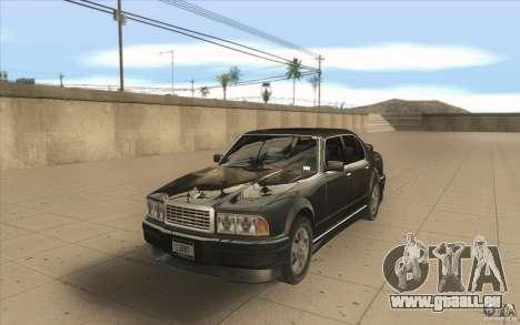 GTA3 HD Vehicles Tri-Pack III v.1.1 für GTA San Andreas rechten Ansicht