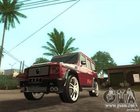 Mercedes-Benz G500 A_R_T für GTA San Andreas