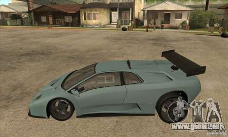 Lamborghini Diablo GT-R für GTA San Andreas linke Ansicht