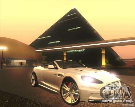 Aston Martin DBS Volante 2009 pour GTA San Andreas moteur