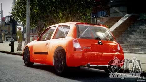 Renault Clio Sport für GTA 4 hinten links Ansicht