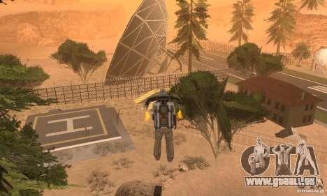 New CJs Airport pour GTA San Andreas quatrième écran