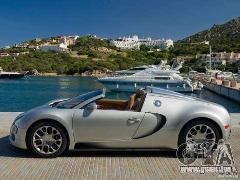 Écrans de chargement Bugatti Veyron pour GTA San Andreas sixième écran
