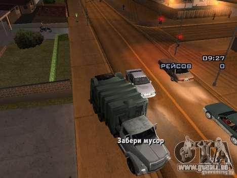 Der Fahrer des LKW für GTA San Andreas zweiten Screenshot