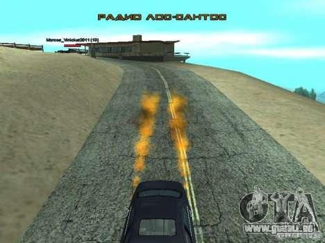 Car Effect pour GTA San Andreas deuxième écran