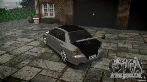 Mitsubishi Lancer Evolution VIII v1.0 pour GTA 4 est un côté