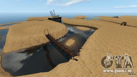 Désert de Gobi pour GTA 4 quatrième écran
