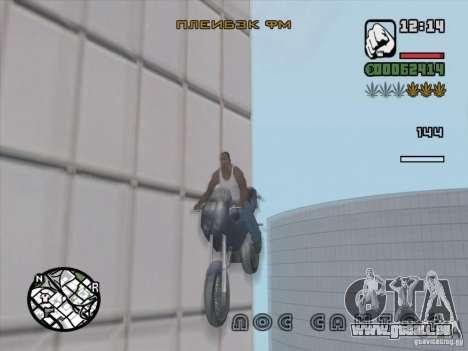 Arrêter le temps pour GTA San Andreas quatrième écran
