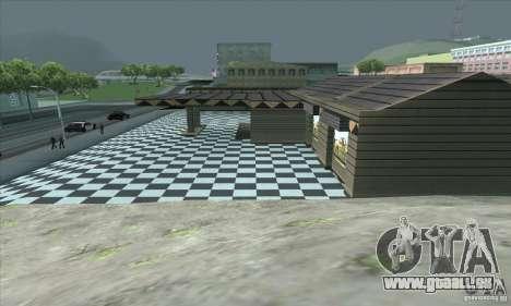 La mise à jour garage CJ dans SF pour GTA San Andreas quatrième écran