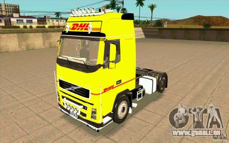 Volvo FH16 Globetrotter DHL pour GTA San Andreas
