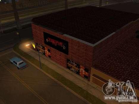 Nouvelle salle de sport pour GTA San Andreas deuxième écran