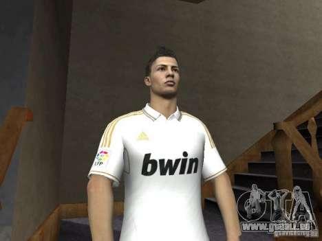 Cristiano Ronaldo pour GTA San Andreas troisième écran
