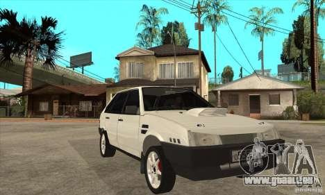 VAZ 21093 für GTA San Andreas Rückansicht