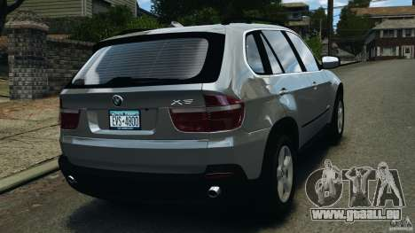 BMW X5 xDrive35d für GTA 4 hinten links Ansicht
