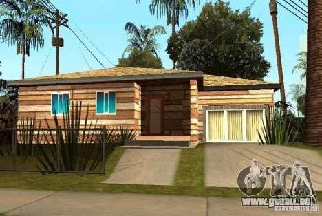 Neue Texturen der Häuser an der Grove Street für GTA San Andreas fünften Screenshot