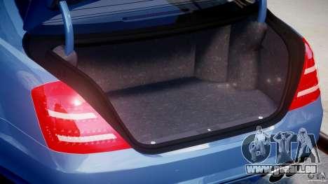 Mercedes-Benz S63 AMG [Final] pour GTA 4 Vue arrière