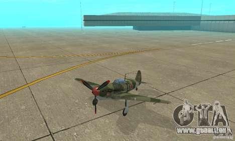 Jak-9 during WORLD WAR II für GTA San Andreas