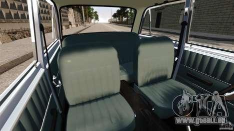 Resto Vaz-2101 pour GTA 4 est une vue de l'intérieur