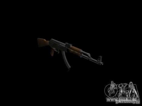 Armes de GTA 4 pour GTA San Andreas