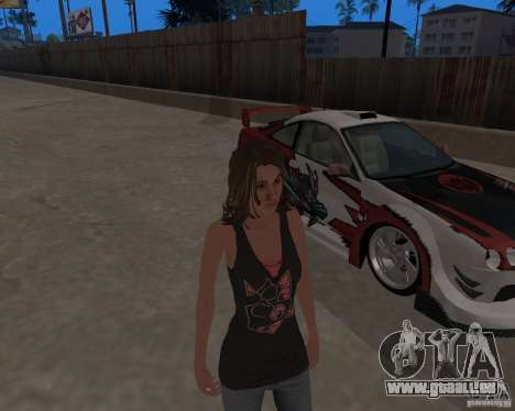Tony Hawks Emily für GTA San Andreas her Screenshot