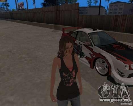 Tony Hawks Emily für GTA San Andreas her Screenshot