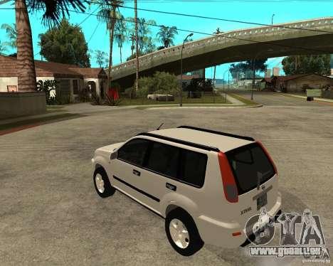NISSAN X-TRAIL 2001 pour GTA San Andreas laissé vue