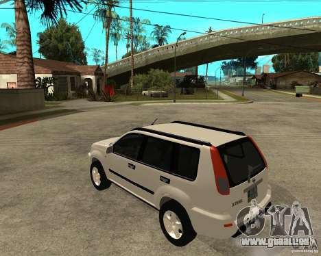 NISSAN X-TRAIL 2001 für GTA San Andreas linke Ansicht