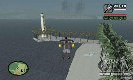 Paradise Beach pour GTA San Andreas troisième écran
