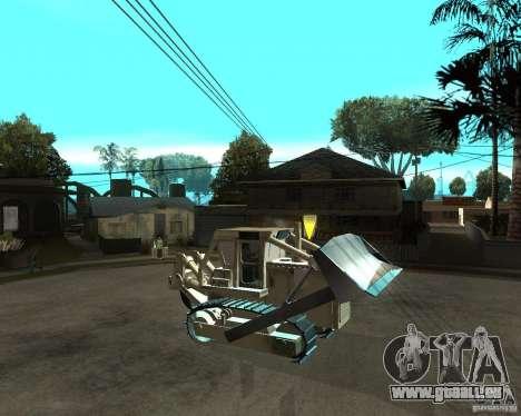 Komatsu D355A für GTA San Andreas rechten Ansicht