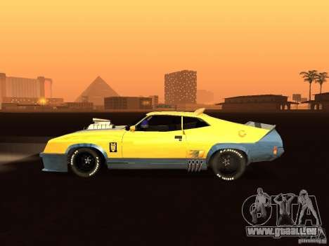 Ford Falcon XB Coupe Interceptor für GTA San Andreas linke Ansicht