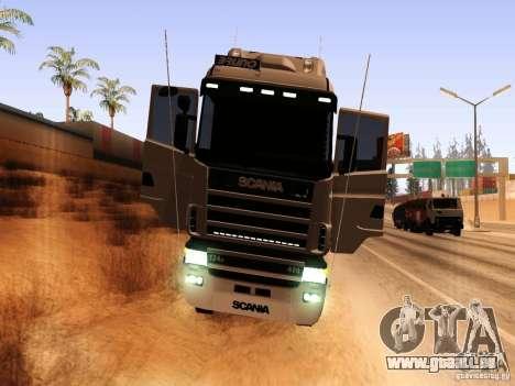 Scania 124G R400 pour GTA San Andreas vue arrière