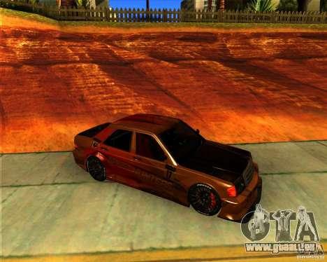 Mercedes Benz 190E - SpeedHunters Edition pour GTA San Andreas laissé vue