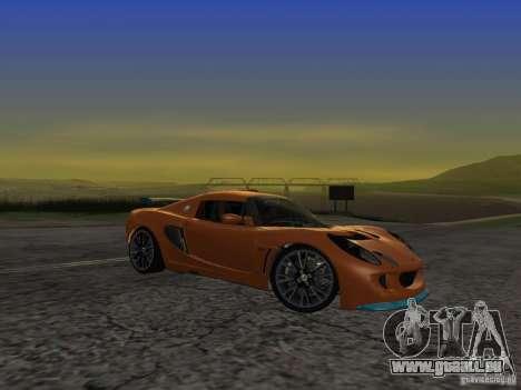 Lotus Exige pour GTA San Andreas vue arrière
