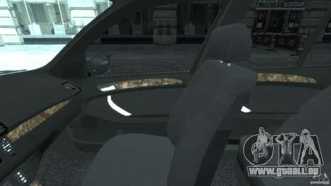 BMW X5 E53 v1.3 pour GTA 4 Vue arrière