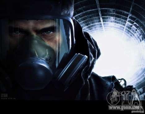 Laden Bildschirme Metro 2033 für GTA San Andreas