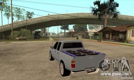 Toyota Hilux Surf v2.0 pour GTA San Andreas sur la vue arrière gauche
