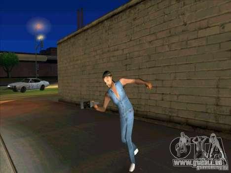Comportement des autres gens pour GTA San Andreas troisième écran