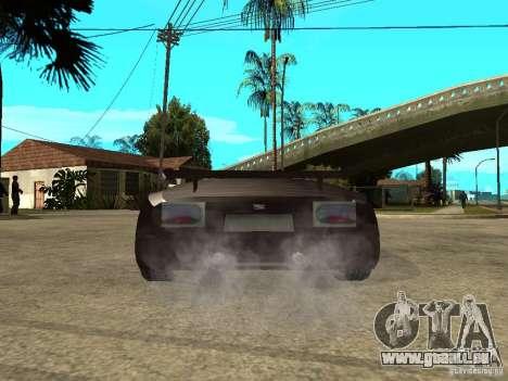 Buggati EB110 pour GTA San Andreas sur la vue arrière gauche